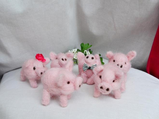 Những món đồ trang trí hình chú lợn xinh xắn đốn tim bất kỳ ai nhìn thấy - Ảnh 3.