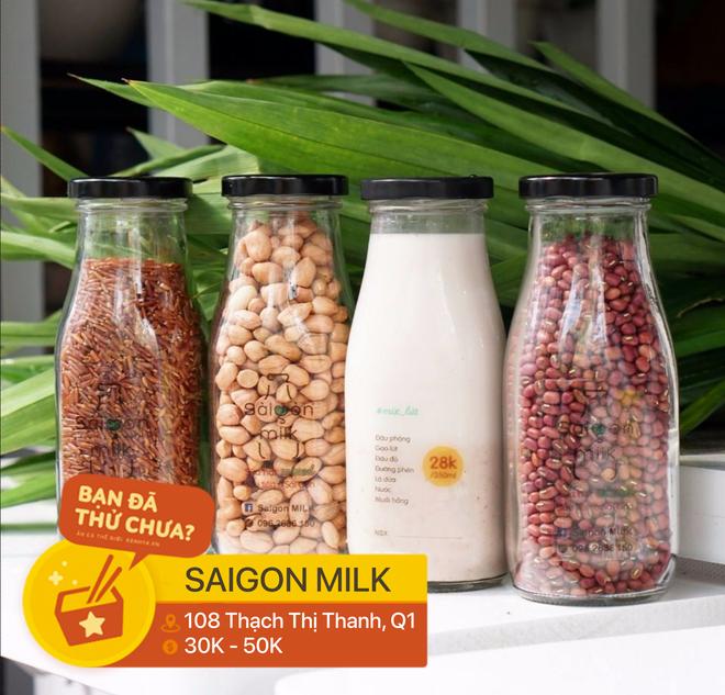 Tổng hợp những địa chỉ bán tất tần tật các loại sữa từ hạt ở Sài Gòn dành cho những người thích healthy - Ảnh 2.