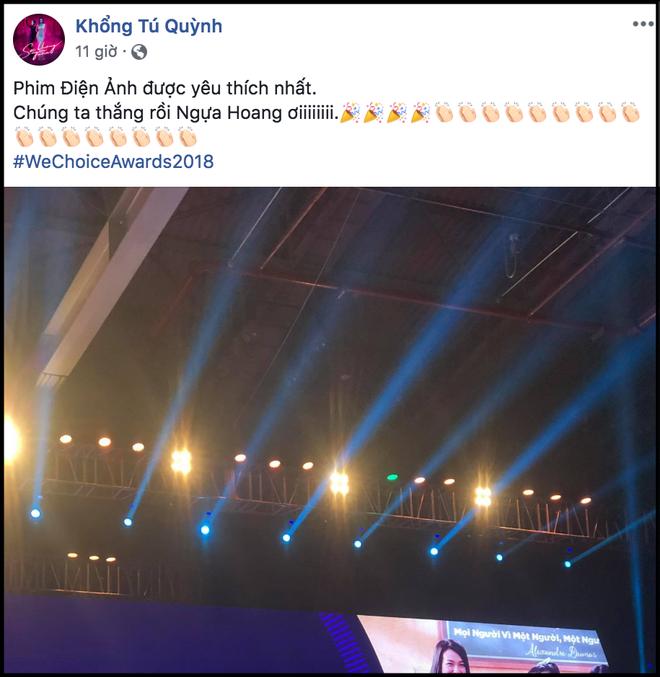 Nghệ sĩ Việt bày tỏ cảm xúc sau đêm Gala WeChoice Awards 2018: Vỡ oà xúc động, hạnh phúc vì những câu chuyện đầy ý nghĩa! - Ảnh 10.