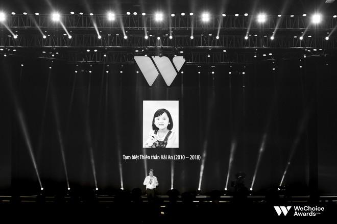 Nghẹn ngào xem tiết mục múa tái hiện câu chuyện về thiên sứ Hải An tại Gala WeChoice Awards 2018 - Ảnh 5.