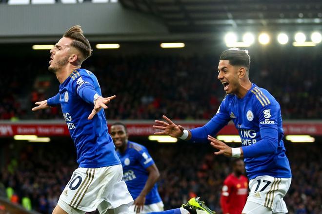 Salah liên tục bắn chim, Liverpool vất vả giành 3 điểm trước Leicester nhờ công thần Milner - Ảnh 2.
