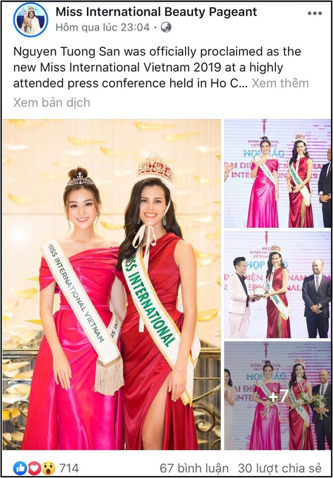 Missosology hết lời khen ngợi Tường San, dự đoán đại diện Việt Nam sẽ đăng quang Miss International 2019 - Ảnh 2.