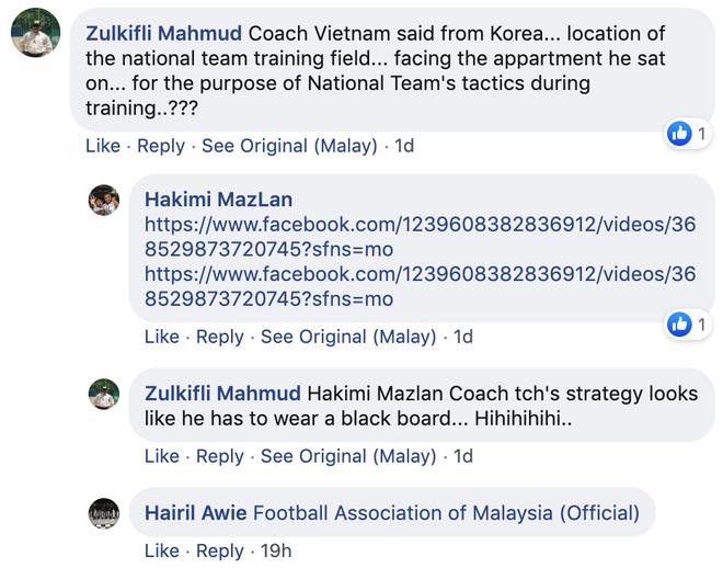 CĐV tuyển Malaysia tố Việt Nam chơi xấu vì xếp sân tập nằm sát nhà HLV Park Hang-seo - Ảnh 3.