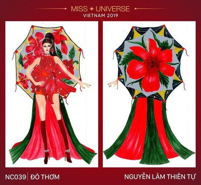 Đối thủ của Hoàng Thùy chọn ngay trang phục hoa dâm bụt đỏ thơm tại Miss Universe - Ảnh 4.