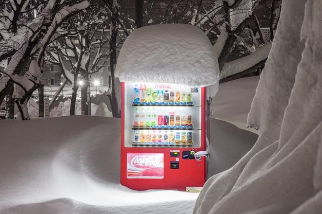 """Vẻ đẹp rực rỡ trong đêm của những chiếc máy bán hàng tự động """"cô độc"""" trên khắp các nẻo đường Nhật Bản - Ảnh 2."""