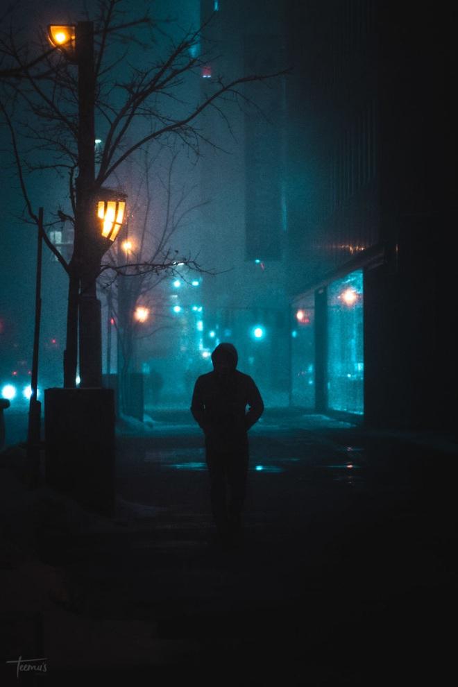 """Bộ ảnh phố Nhật về đêm đầy """"ảo diệu"""" đang gây sốt cộng đồng mạng, hóa ra mùa đông xứ hoa anh đào đẹp đến thế sao? - Ảnh 8."""