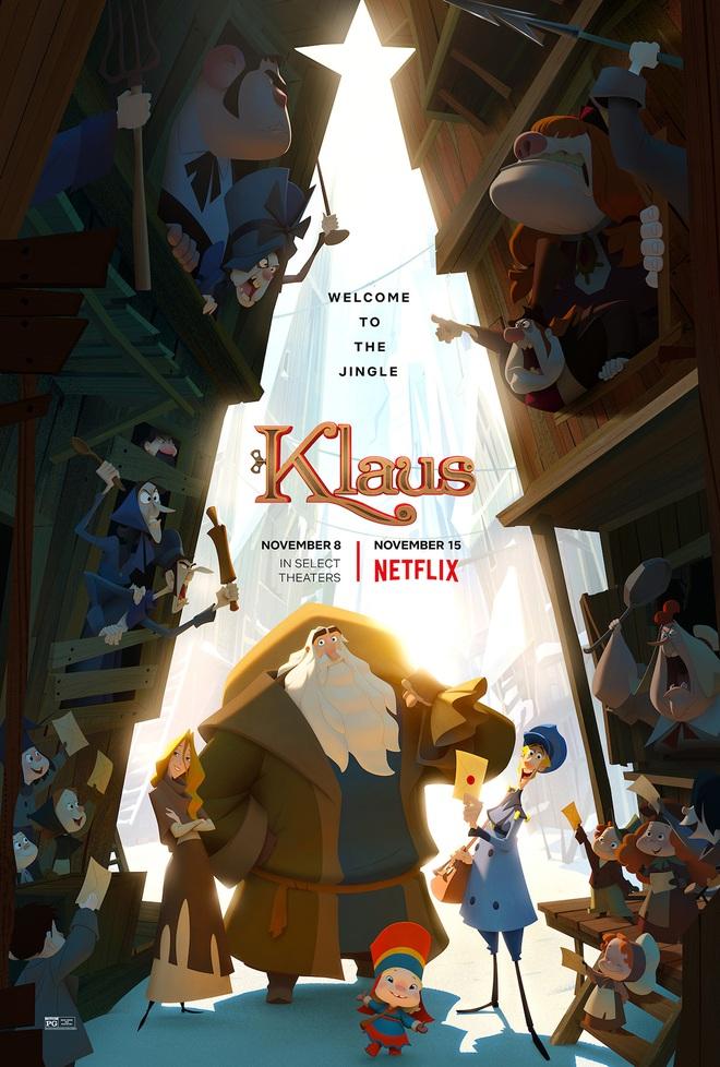Klaus - Câu Chuyện Giáng Sinh: Kiệt tác đẹp từng khung hình, cuộc cách mạng phim hoạt hình 2D - Ảnh 3.