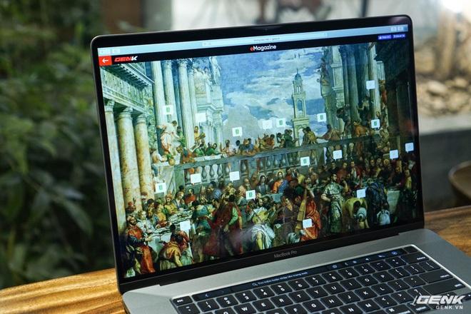 """Trên tay MacBook Pro 16 inch: Viền màn hình mỏng, bàn phím gõ """"phê"""" tay hơn nhiều - Ảnh 5."""