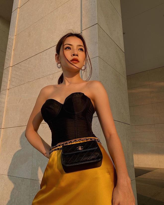"""Visual của Chi Pu ngày càng hoàn hảo: Chỉ mặc kín cũng sexy """"bức người"""", tích cực lăng xê mốt son bóng khiến bao người trông ngóng - Ảnh 3."""