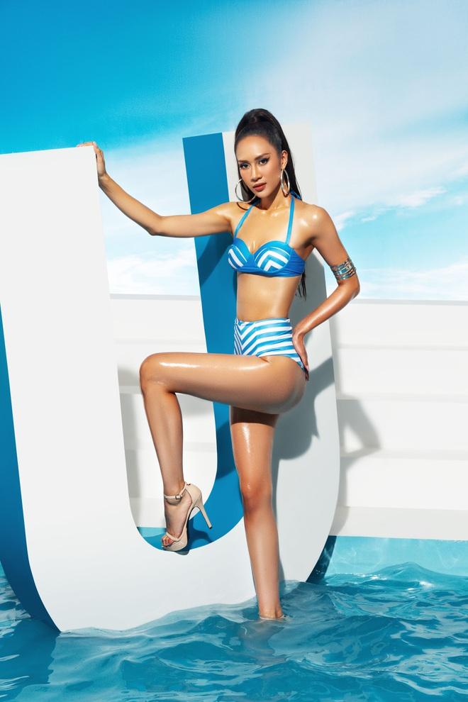 Trước thềm bán kết, Top 45 Hoa hậu Hoàn vũ Việt Nam gây sốt với loạt ảnh bikini hiện đại, khoe body khỏe khoắn - Ảnh 15.