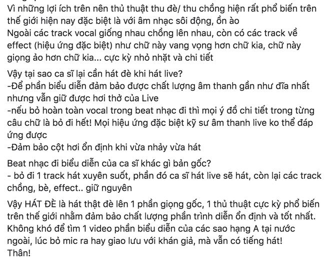 """Đạo diễn Việt Tú, nhạc sĩ Khắc Việt và các nhạc sĩ, producer... lên tiếng bênh vực Bích Phương khi vướng vào tranh cãi """"hát đè"""" hay """"hát nhép"""" - Ảnh 8."""
