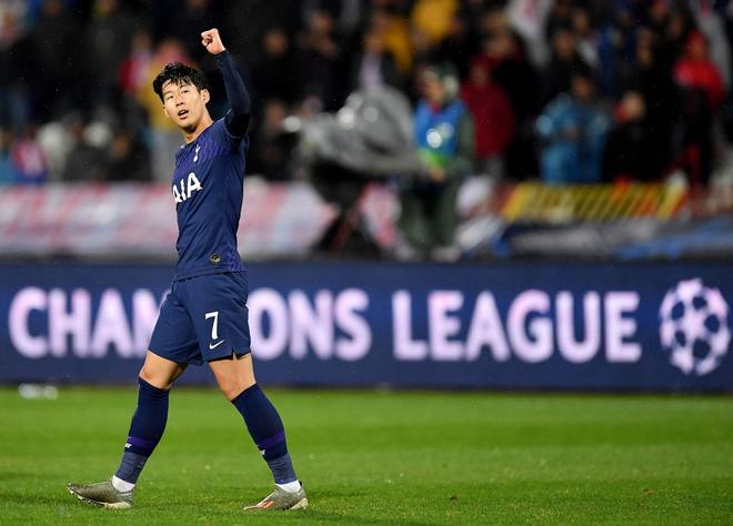 Nén nỗi buồn ra sân thi đấu, Son Heung-min tỏa sáng rực rỡ giúp đội nhà đại thắng ở Champions League - Ảnh 5.