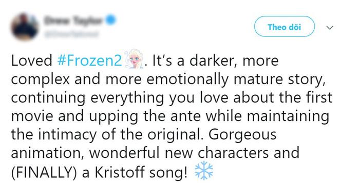 Frozen 2 được khen hay ăn đứt phần 1: Cảm xúc thăng hoa, ca khúc chủ đề ám ảnh không kém Let It Go - Ảnh 3.