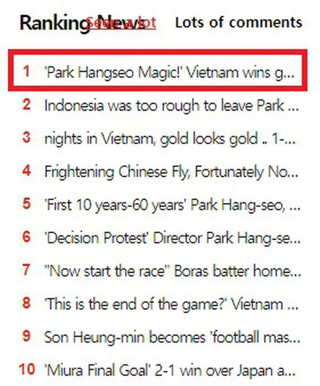 Người Hàn Quốc phát cuồng với chức vô địch SEA Games đầu tiên của Việt Nam, nửa triệu người ùa vào comment chúc mừng - Ảnh 3.