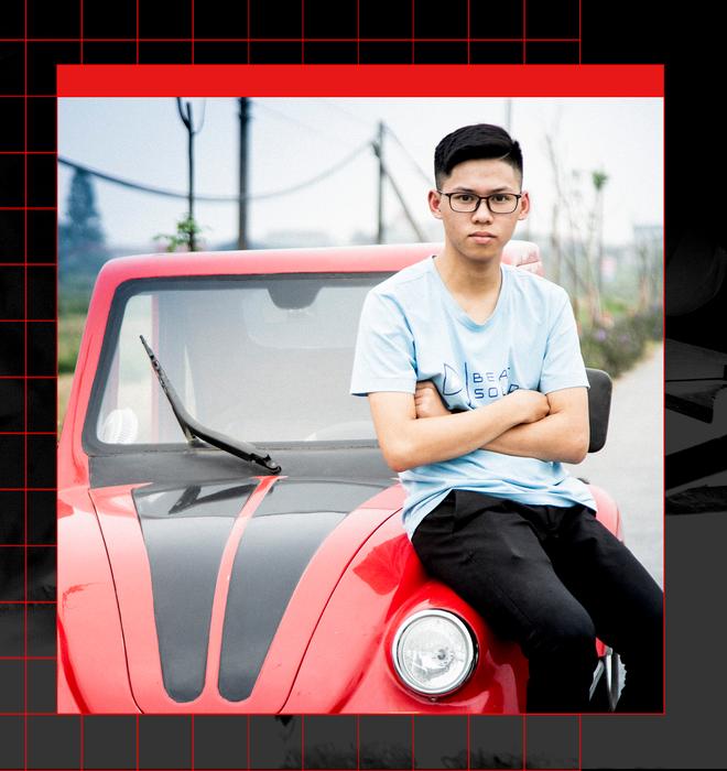 Ngô Việt Cường - Cậu học sinh lớp 12 trong vòng 2 năm lắp ráp thành công 2 ô tô chạy bằng năng lượng mặt trời - Ảnh 17.