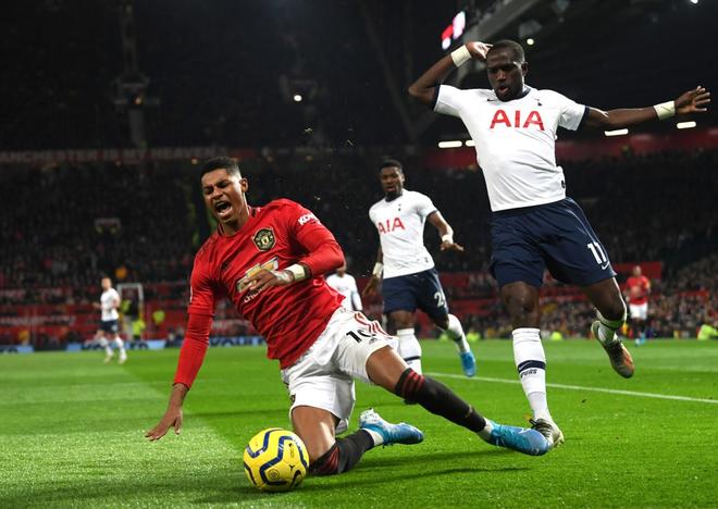 Son Heung-min hoàn toàn vô hại, Tottenham Hotspur đầu hàng trước Man Utd tại Old Trafford - Ảnh 7.