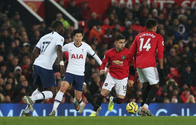 Son Heung-min hoàn toàn vô hại, Tottenham Hotspur đầu hàng trước Man Utd tại Old Trafford - Ảnh 10.
