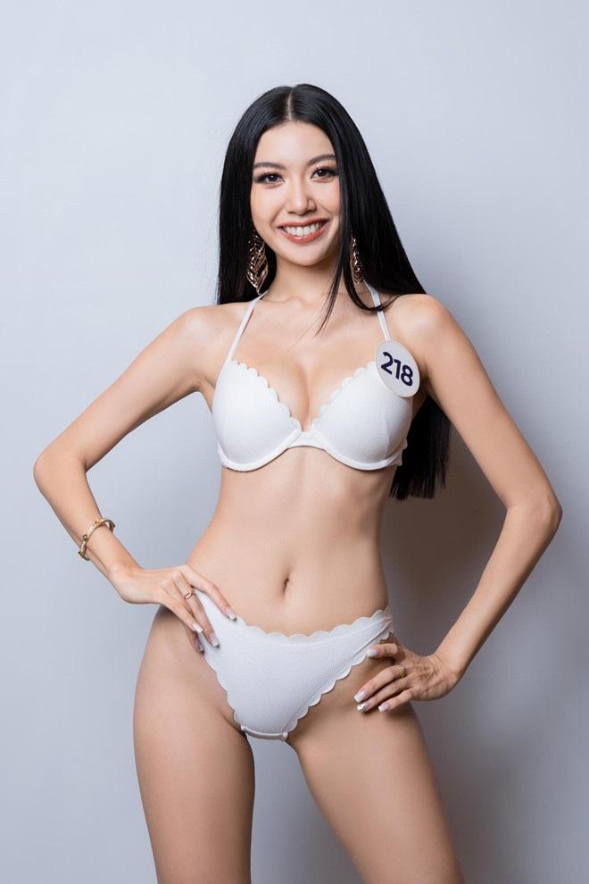 """Soi lại số đo top 3 """"Hoa hậu Hoàn vũ VN"""" ở các cuộc thi trước với hiện tại: Ai """"lột xác"""" nhiều nhất? - Ảnh 8."""