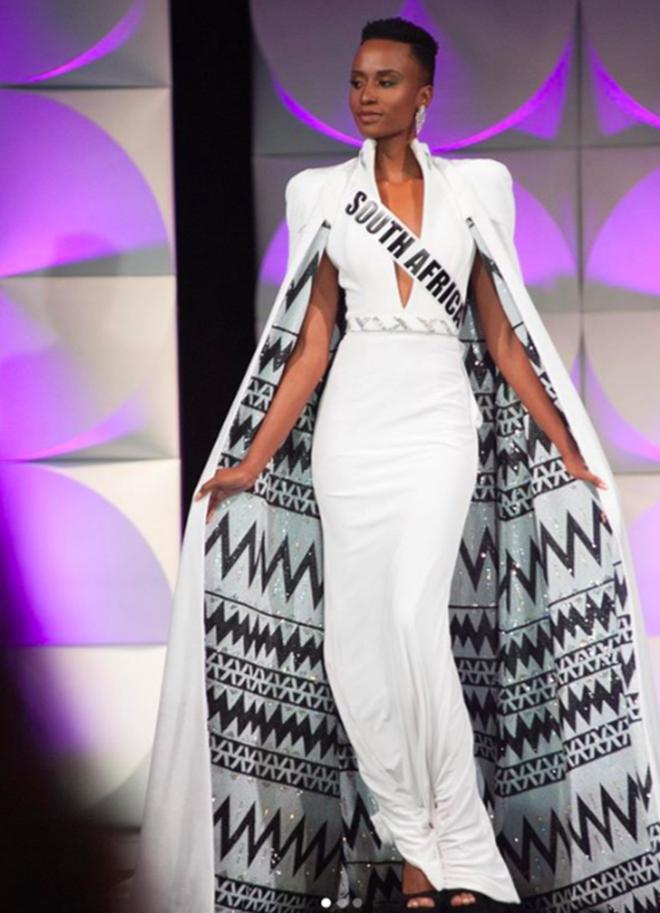 Nhan sắc lạ và đầy ấn tượng của mỹ nhân Nam Phi vừa đăng quang Miss Universe 2019 - Ảnh 7.
