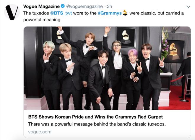 Chọn đồ của NTK trong nước đi dự Grammy là đủ thấy lòng tự tôn dân tộc của BTS lớn cỡ nào - Ảnh 4.