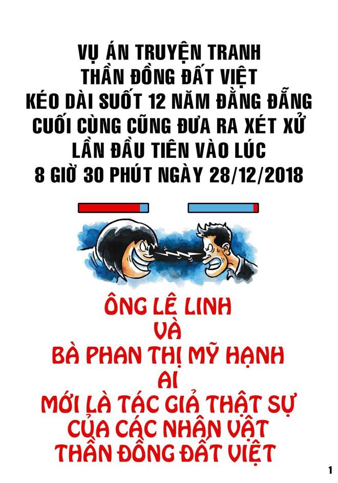 Họa sĩ Lê Linh chia sẻ sau khi thắng kiện vụ Thần đồng đất Việt: Từ khi vẽ nên Trạng Tí, tôi luôn tin cái thiện sẽ chiến thắng - Ảnh 1.