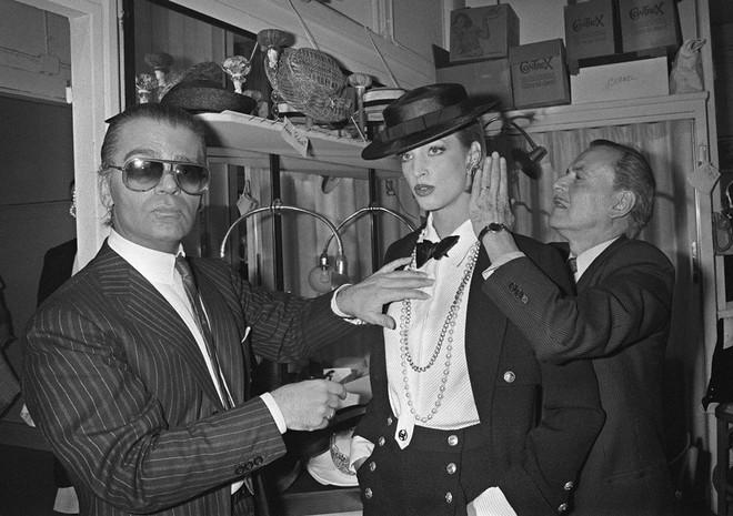 Karl Lagerfeld - Ông hoàng Chanel cuộc đời gắn với chữ thời trang - ảnh