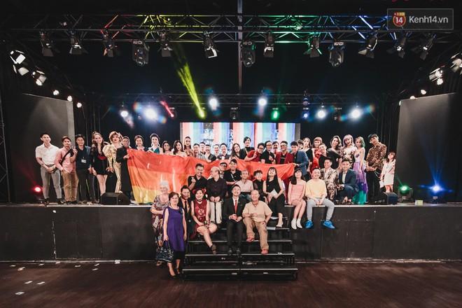Hoa hậu chuyển giới Nhật Hà rạng rỡ trong lễ trao giải của cộng đồng LGBTI+ 2019 - Ảnh 1.