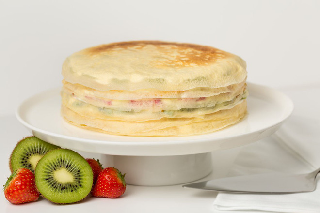 Giờ mới để ý, hóa ra người Nhật Bản thích cho trái cây tươi vào các loại bánh ngọt như thế này - Ảnh 8.