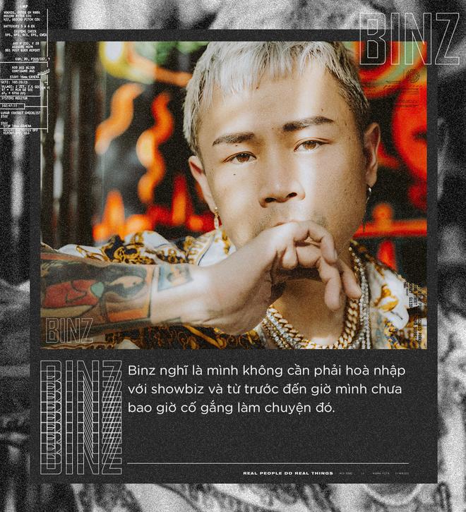 """Rapper Binz: Nhiều người khuyên tôi đừng nên sáng tác nhạc """"gắt"""" nữa nhưng đó mới là tôi - Ảnh 6."""