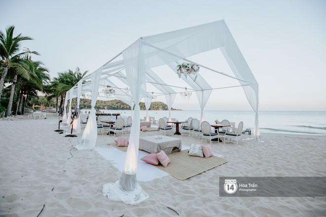 Chùm ảnh: Những khoảnh khắc ấn tượng nhất trong hôn lễ chính thức của cặp đôi tỷ phú Ấn Độ bên bờ biển Phú Quốc - Ảnh 6.