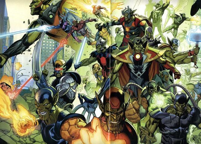 """Lục lọi hồ sơ vũ trụ của 2 chủng tộc da xanh thượng đẳng Kree và Skrull trong """"Captain Marvel"""" - Ảnh 7."""