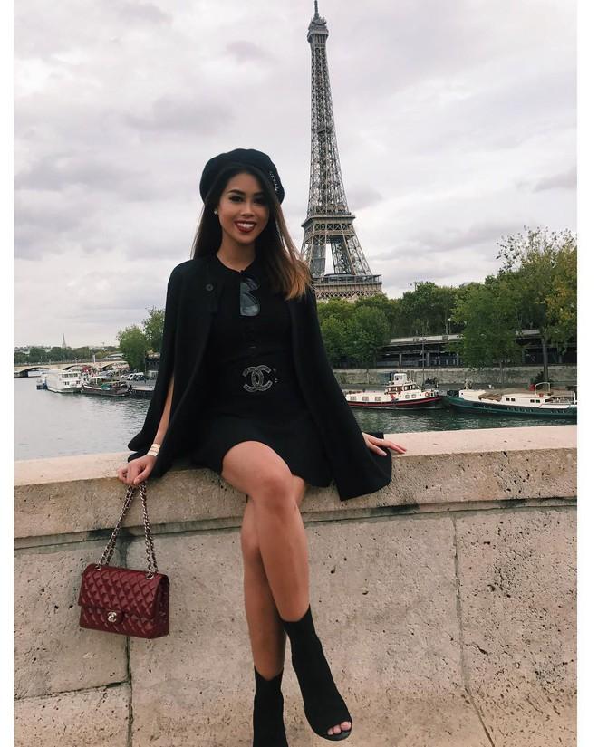 """Thảo Tiên: Cô nàng """"rich kid"""" mới 22 tuổi nhưng mê đồ đen đến mức sắc đen ngập tràn mọi ngõ ngách Instagram - Ảnh 3."""