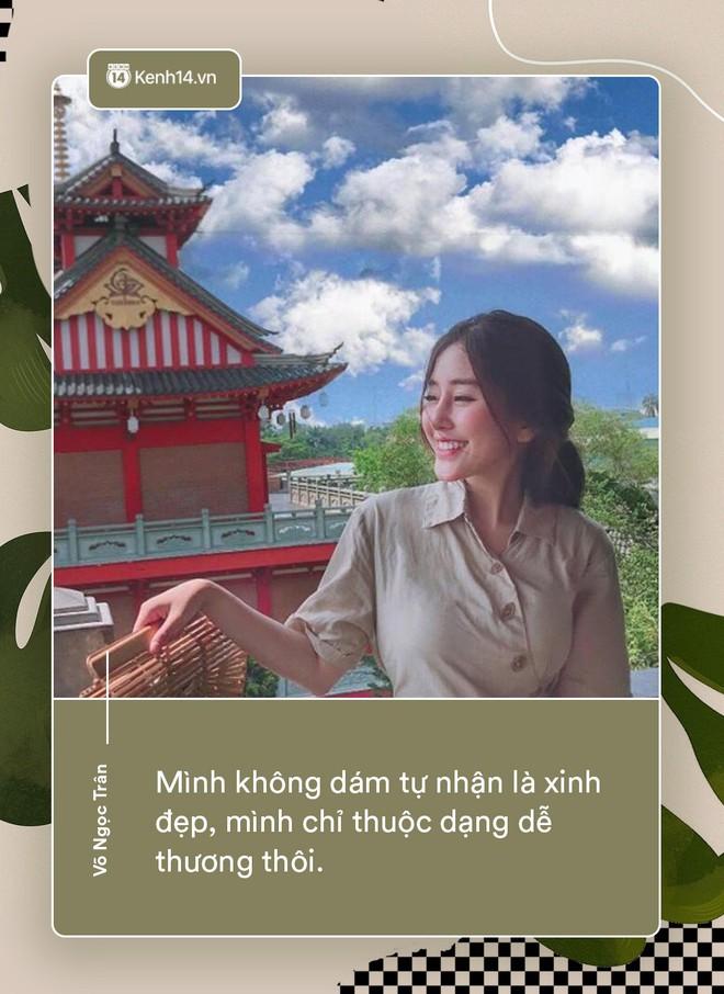 Võ Ngọc Trân - nữ sinh cấp 3 đang hot nhất Sài Gòn: Không cần người đẹp trai và quá giàu có, vì mình có thể kiếm được tiền - Ảnh 2.