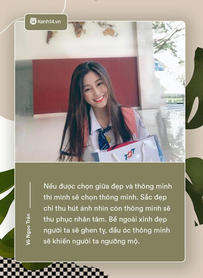 Võ Ngọc Trân - nữ sinh cấp 3 đang hot nhất Sài Gòn: Không cần người đẹp trai và quá giàu có, vì mình có thể kiếm được tiền - Ảnh 5.