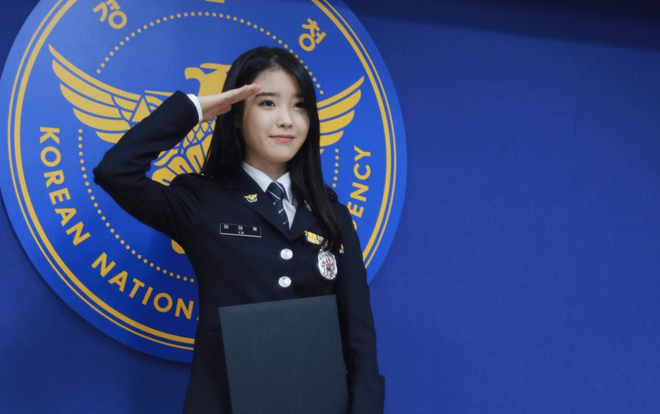 Một sự thật ít ai biết: Em gái quốc dân IU thật ra từng là sĩ quan cảnh sát cấp cao - Ảnh 3.