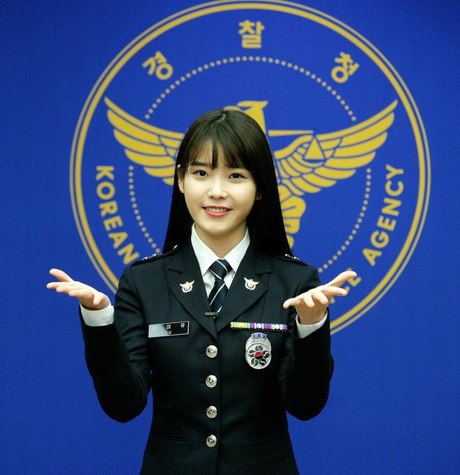 Một sự thật ít ai biết: Em gái quốc dân IU thật ra từng là sĩ quan cảnh sát cấp cao - Ảnh 1.