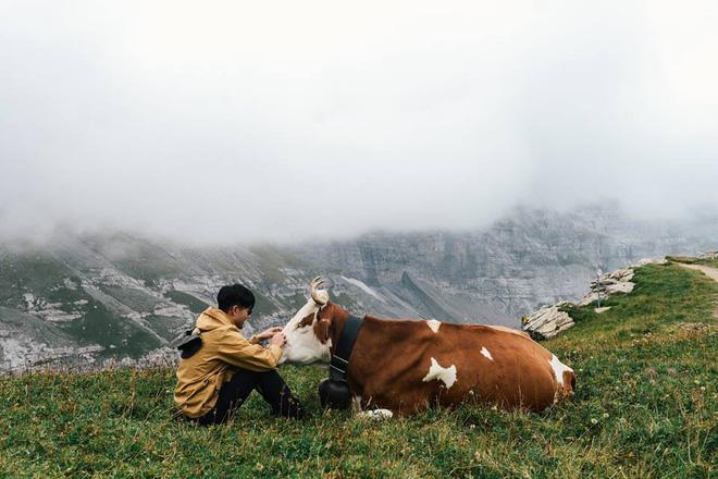 Bộ ảnh du lịch Thuỵ Sĩ của cặp đôi travel blogger người Thái khiến dân mê trekking xem xong không mê mới lạ! - Ảnh 9.