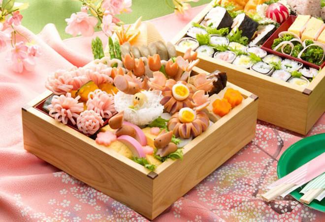 """Tháng ba sang, mùa lễ hội xuân ở Nhật Bản có thật nhiều những món ăn đẹp đến """"nao lòng"""" - Ảnh 5."""