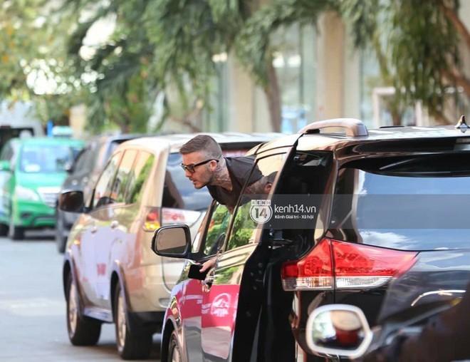 Cuối cùng David Beckham đã xuất hiện tại sự kiện ở TP.HCM: Ngôi sao quốc tế chuẩn bị gặp gỡ 2 cầu thủ Việt đình đám - Ảnh 2.