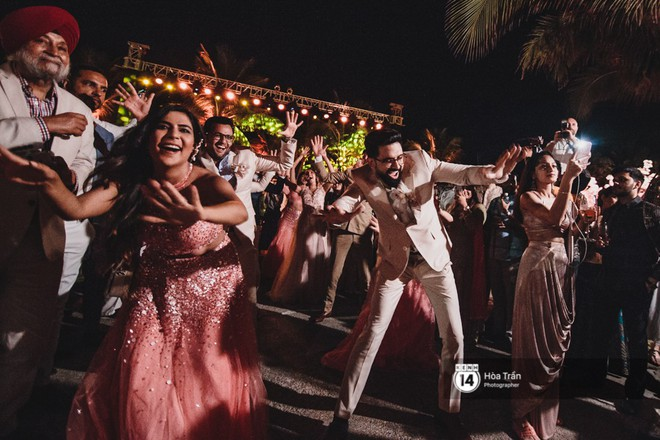 Chùm ảnh: Những khoảnh khắc ấn tượng nhất trong hôn lễ chính thức của cặp đôi tỷ phú Ấn Độ bên bờ biển Phú Quốc - Ảnh 17.