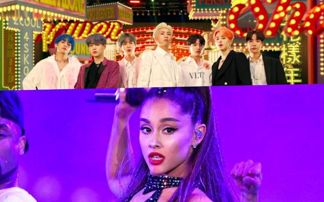 BTS chính thức phá vỡ thành tích của Ariana Grande, lập kỉ lục thế giới mới rồi đây! - Ảnh 2.