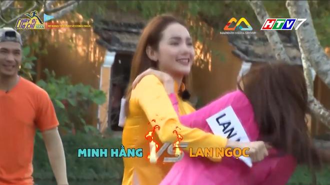 Running Man: Mặc áo dài, Lan Ngọc vẫn xé bảng tên của Minh Hằng cực ác liệt! - Ảnh 5.
