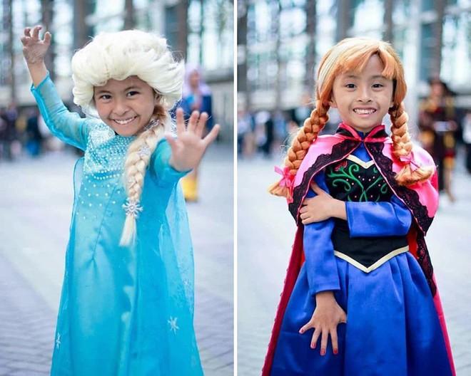 Chihiro và Chieko: Cặp chị em song sinh với tài cosplay thiên biến vạn hóa khiến MXH trầm trồ - Ảnh 10.