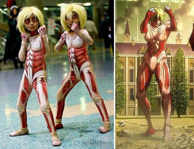 Chihiro và Chieko: Cặp chị em song sinh với tài cosplay thiên biến vạn hóa khiến MXH trầm trồ - Ảnh 9.