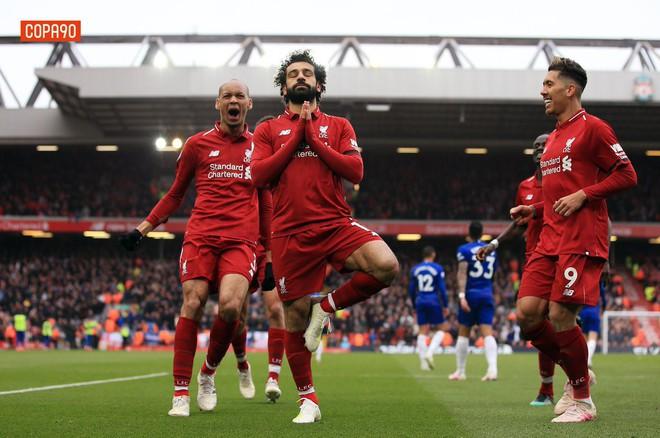 Vua Ai Cập Salah lập siêu phẩm, Liverpool hạ gục Chelsea 2-0 để đòi lại ngôi đầu Ngoại hạng Anh - Ảnh 2.