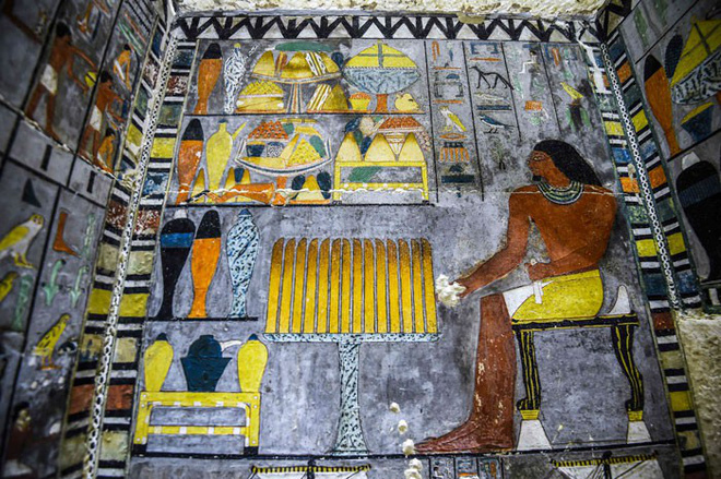 Khai quật 2 lăng mộ Ai Cập kỳ lạ nhất lịch sử: sau 4000 năm mà nước sơn vẫn còn như mới - Ảnh 4.