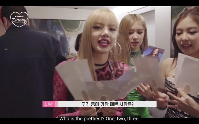 Khoảnh khắc Black Pink nội bộ tương tàn: Trong mắt 4 thành viên, ai là người xinh đẹp nhất nhóm? - Ảnh 1.