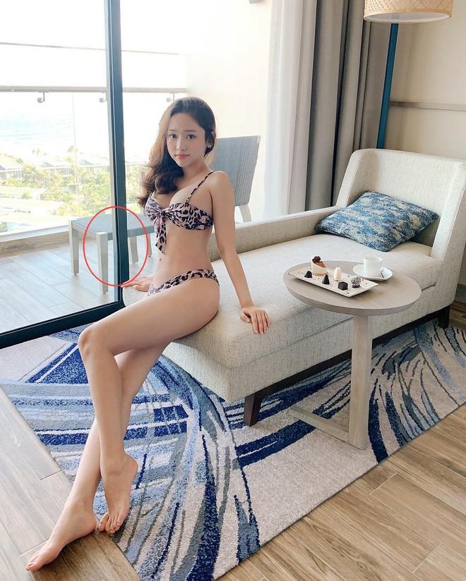 Diện bikini khoe body cực bốc để PR thuốc giảm cân, Thuý Vi vô tình để lộ một sai lầm chết người - Ảnh 1.