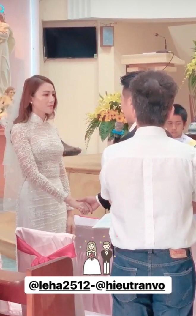 Lê Hà chính thức tổ chức lễ cưới, nói lời trăm năm với ông xã điển trai khi con gái tròn 1 tuổi - Ảnh 1.