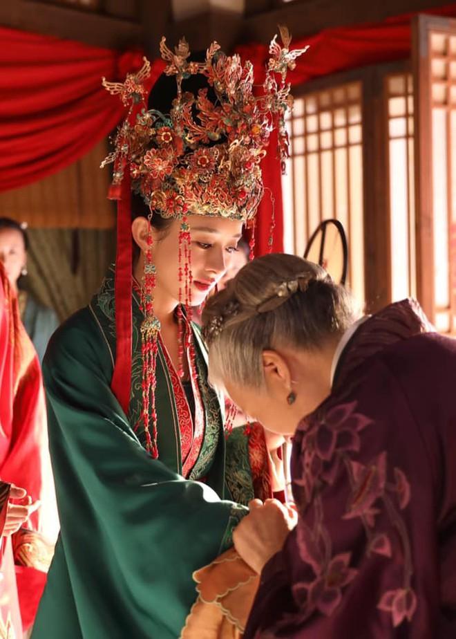 9 cô dâu cổ trang Hoa ngữ trên màn ảnh gần đây, ai là nÆ°Æ¡ng tá» xinh đẹp nhất trong lòng bạn? - Ảnh 12.